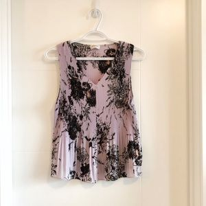 Wilfred Damian sleeveless floral blouse